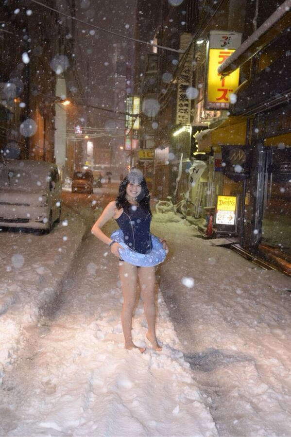 雪国の露出狂が命がけで露出しててワロタwwwwwwwwwwwwwwwwwwwwwwww(写真あり)