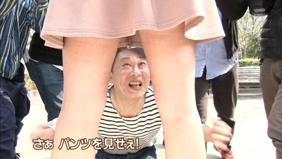 タモリ倶楽部超最高~☆TVで何気に映るパンツ丸見え・胸チラ等々がくっそヌけるわwwwwwwwwwwww(えろキャプ写真あり)