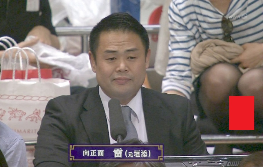 NHK・相撲中継でずっとパンツ映りこんでてワロタwwwwwwwwwwwwwwこれ親方、絶対気付いてるだろwwwwwwwwwwwwww