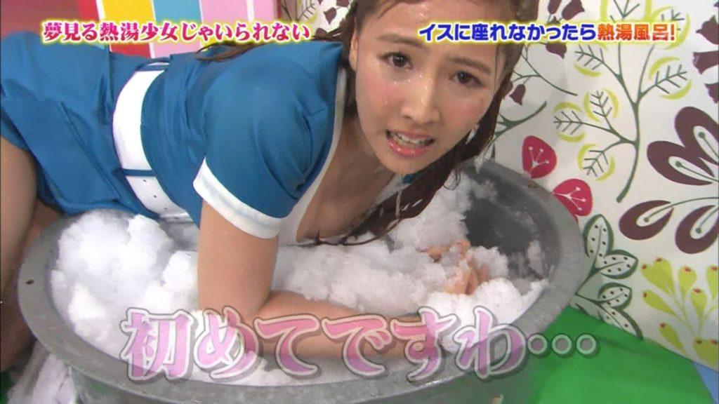 マスカットナイトでav女優が熱湯風呂でスケスケでパンツ丸見え・胸チラしまくりでモザイク不可避wwwwwwwwww(えろキャプ写真あり)