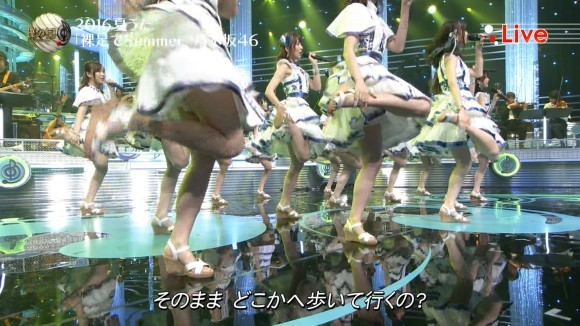 乃木坂46のワキと下半身が目立ちすぎた歌番組のえろキャプ写真が抜けすぎて困るwwwwwwwwww