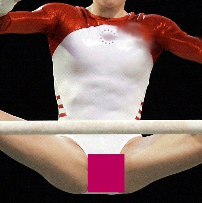 ちょwwオまんこ濡れてる新体操選手を発見・・・股間アップすぎて誤魔化しきかねえんだなwwwwwwwwww(写真あり)