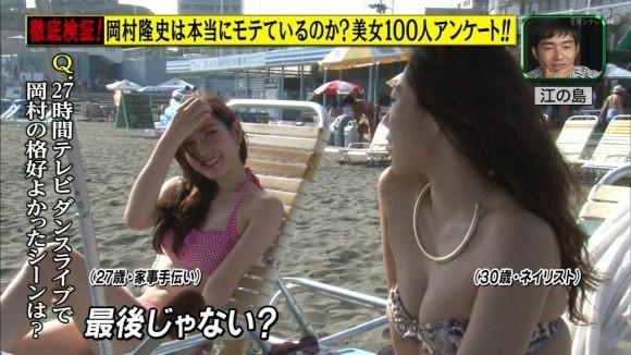 夏はTVでミズ着GALを無料で拝めるから超最高だよなwwwwww地上波も侮れねえわwwwwww(TVえろキャプ写真あり)