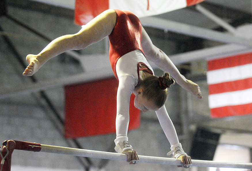 OSHAWA -- Gemini Gymnastic's Brooke Lambert competed in a provincial qualifier hosted at the club. January 25, 2014