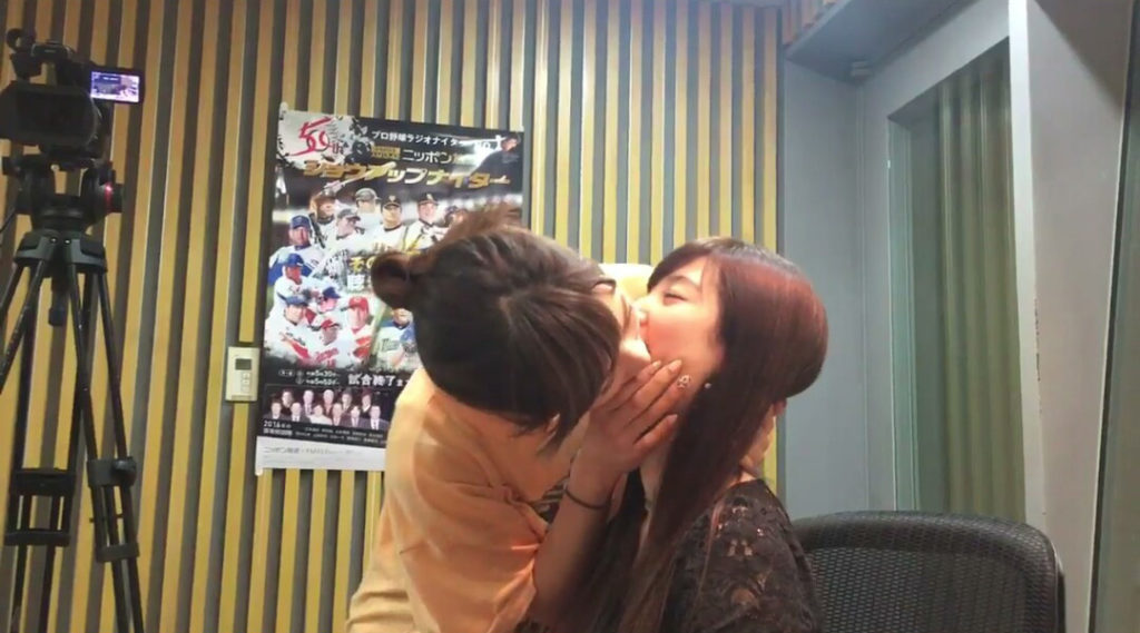 AKB48大家志津香と武藤十夢がレズビアンKISSベロKISSしててクッソえろいwwwwwwwwwwww(えろ写真あり)