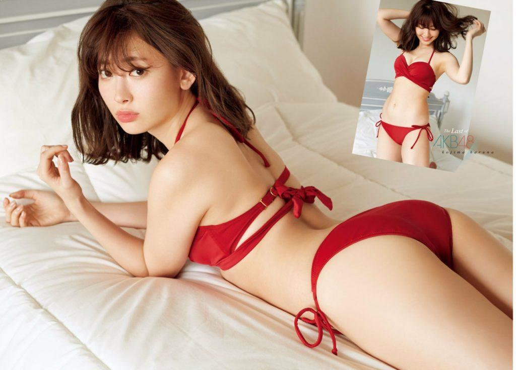(永久保存版)小嶋陽菜(29)のセックスすぎるグラビアえろ写真21枚